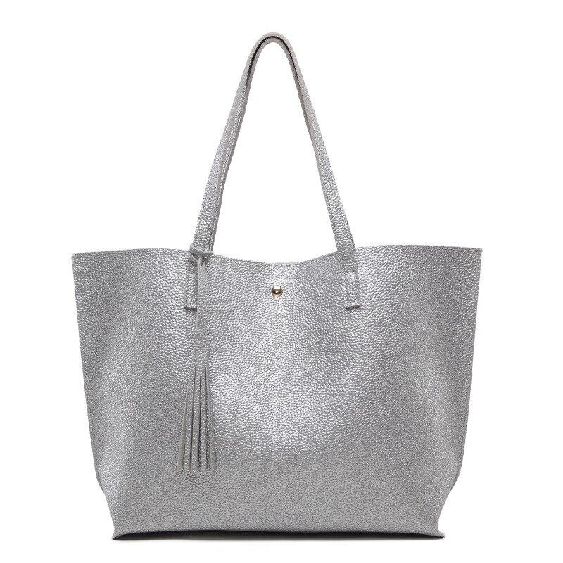 padrão impressão grandes bolsas franja moda grande