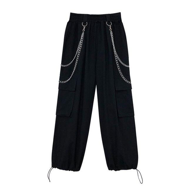 Фото женские летние свободные брюки с завышенной талией цена