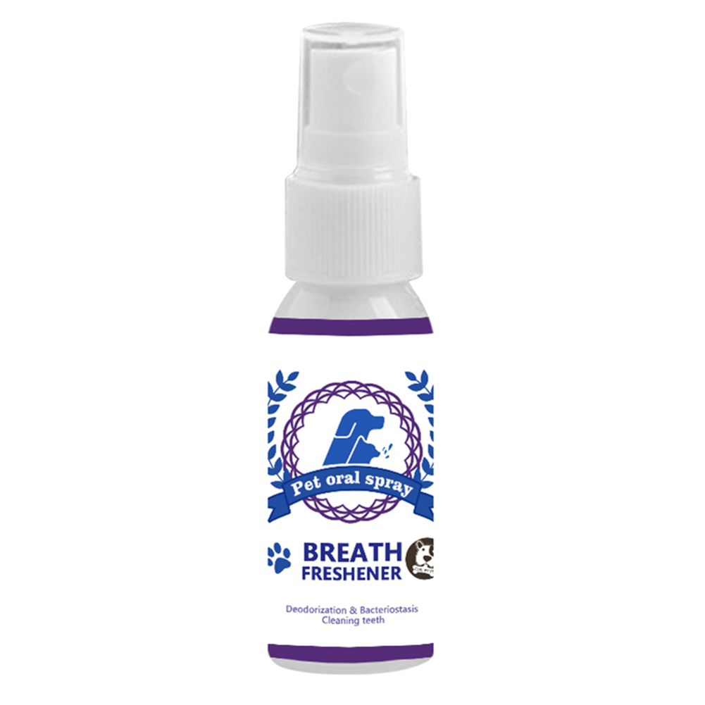 Pet Care Mouthwash Spray Pet Teeth Breath Cleaning Freshener Dog Cats Mouth Spray Care Cleaner TB Sale