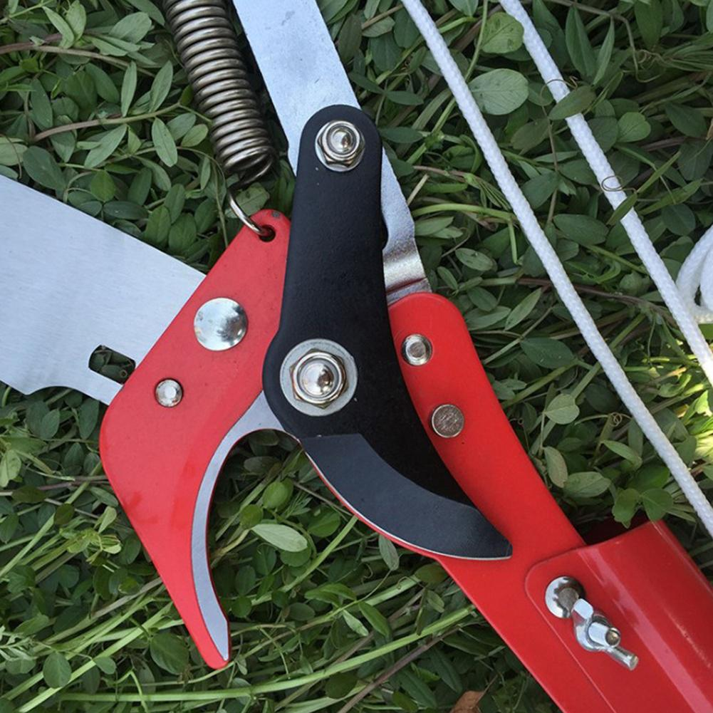 Extendable Scissors Pruning Tool Tall Tree Branch Lopper High-altitude Shears Picking Fruit Garden Trimmer Saw Branches Cutter