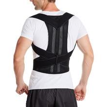 Corrector de postura para espalda, corsé de corrección de clavícula, cinturón ajustable, para encorvarse y hundir, envío directo