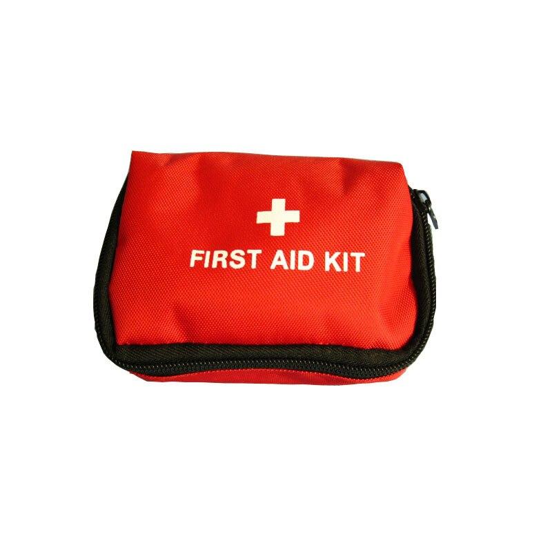 Caixa de primeiros socorros bump cintura tipo kits médicos ao ar livre com fármacos pacote pequeno vermelho dar apresenta