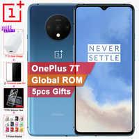Globale di ROM Originale Oneplus 7T Del Telefono Mobile 6.55 90Hz 8G 128G Snapdragon 855 Più 2.96GHz 48MP Triple Telecamere 3800mAh NFC Del Telefono