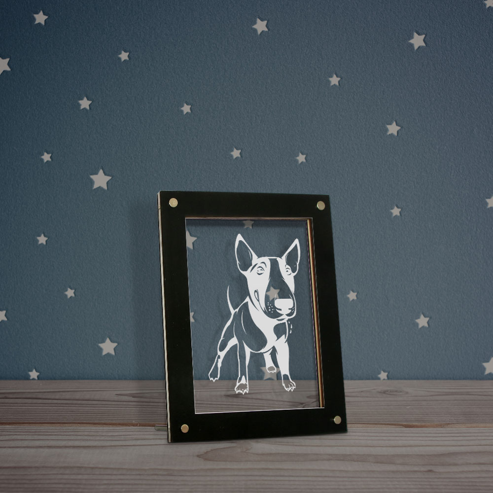 Boston Terrier Wood Dog Sign Wall Plaque Photo Display A House Is Not A Home ...