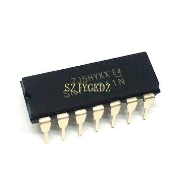 Sn74ls11 и 3-элементный 3-контактный биполярный чип Pdip Ic Sn74ls11n