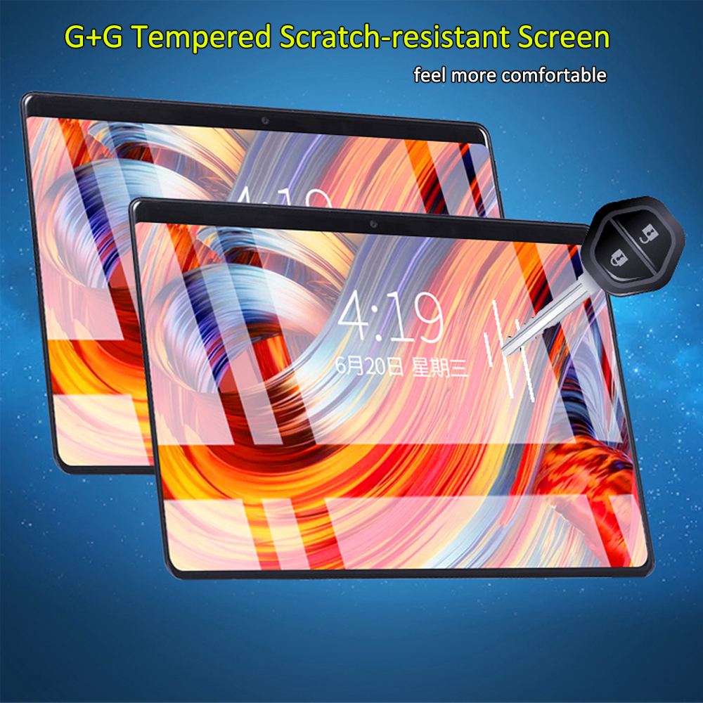 2020 New 10 Inch Tablet Pro Android 9.0 10 Core 6GB RAM 128GB ROM 3G 4G FDD LTE Wifi Bluetooth GPS Phone Call 2.5D Glass Screen