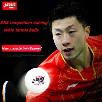 50 bälle/100 bälle DHS 3-star D40  tischtennis ball Original 3 sterne gesäumt wird neue material ABS kunststoff ping pong bälle poly