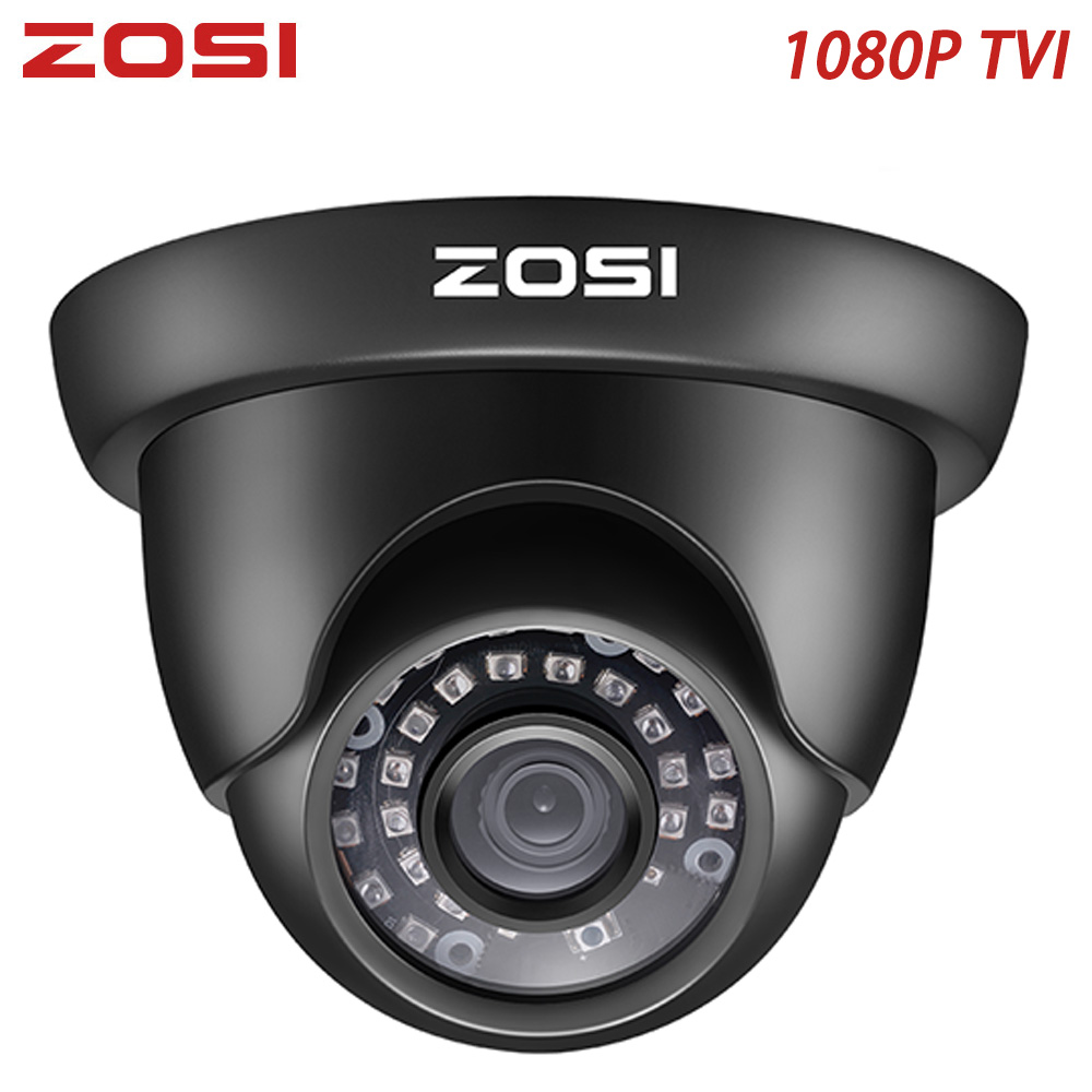 ZOSI 1080P TVI Outdoor Indoor Video Surveillance Security Cameras Analog Weatherproof Nightvision For Home CCTV Security System