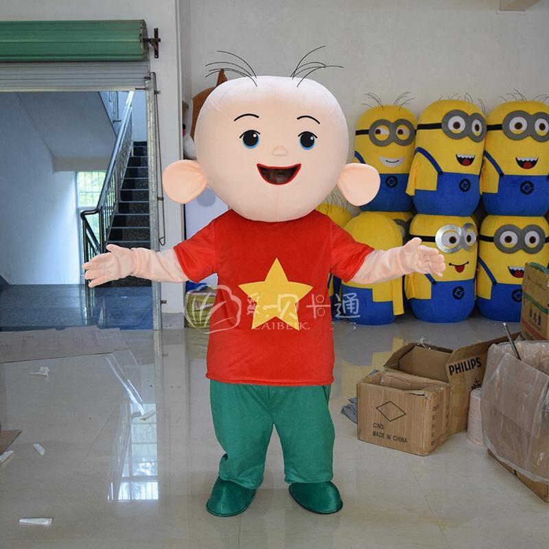 Garçon mascotte Costumes petit bébé Cosplay mascotte Costume dessin animé adulte vêtements pour Halloween fête de noël événement