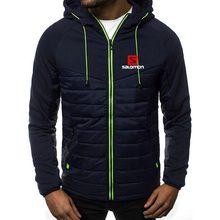 men's clothing sport clothes men menswear hoodie S logo spring/summer jacket casual sweatshirt long sleeve zippered hoodie