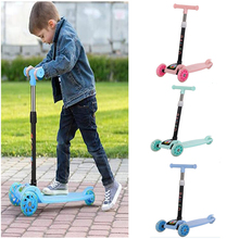 Scooter Kids Toys Tricycle Balance-Bike Baby Car Children's for Ride on Flash Folding