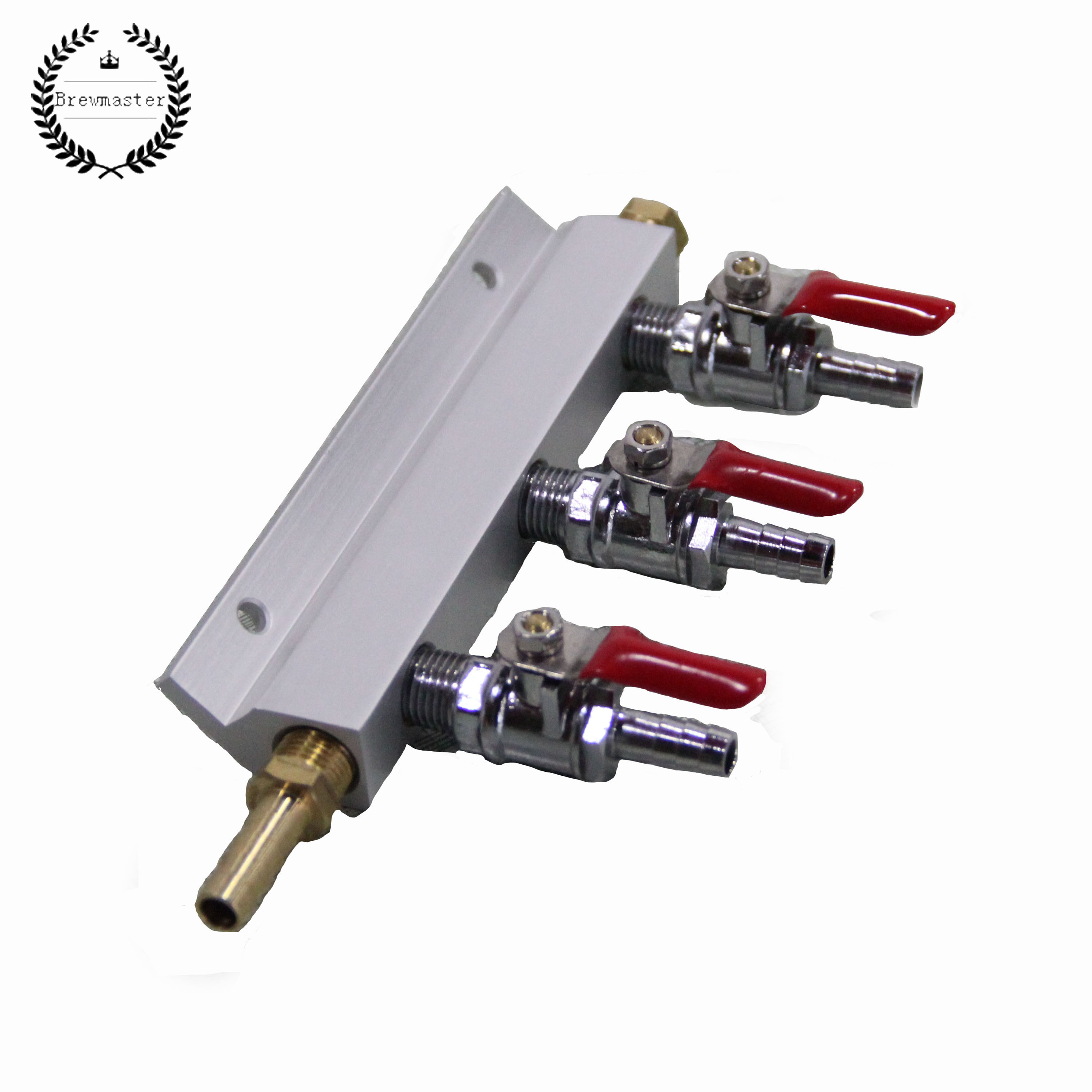 Gas Line Manifold Splitter 3 Ways (5/16inch, 8mm Barb)
