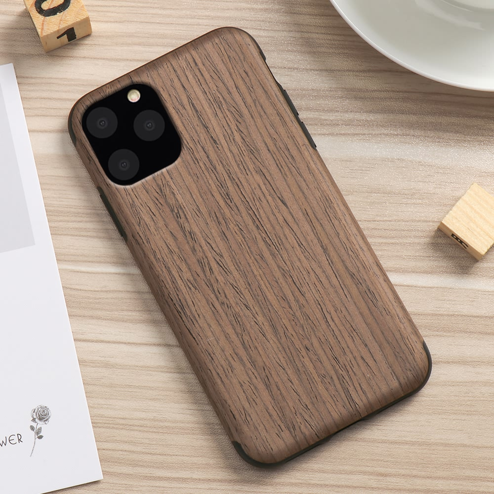 H55af34ca7ddb491887610422102c8535T LAPOPNUT Case for Iphone 11 Pro Xs Max Xr X 7 8 Plus 6 6s 5 5s SE Apple Wood Grain Flexible TPU Silicone Hybrid Slim Cover Coque