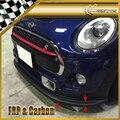 Автомобильные аксессуары для Mini Cooper S F56 FRP стекловолокно JDM передняя губа (только S) Бампер Из Стекловолокна разветвитель под спойлер