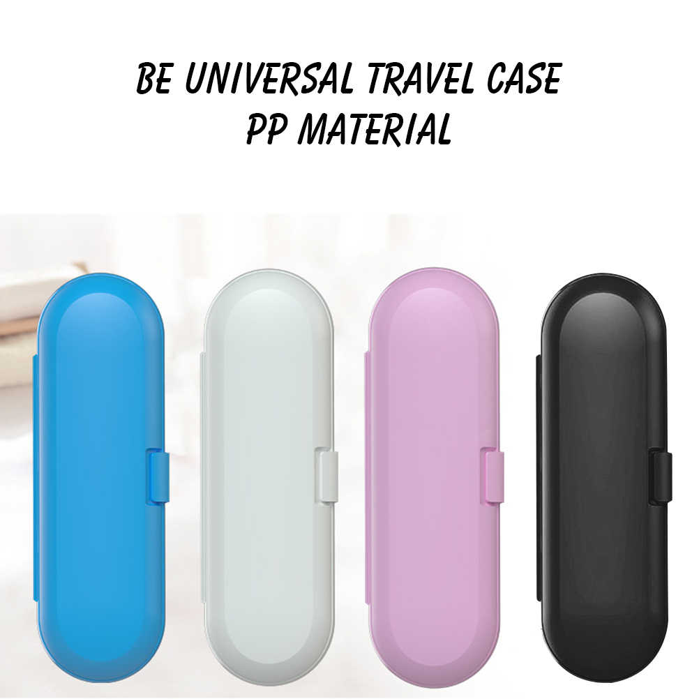 UNIVERSAL ELECTRIC TOOTHBRUSH HOLDER STORAGE BOX CASE COVER TRAVEL OUTDOOR CAMP