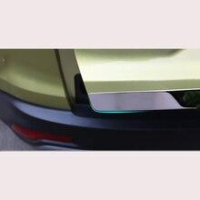 Для Honda CRV задняя дверь декоративная полоса из нержавеющей стали ствол Яркая Полоса декоративные аксессуары