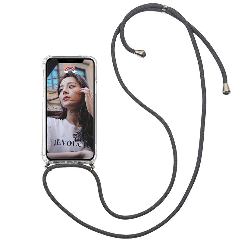 Lanyard Carry Case For IPhone 7 8 6 6s Plus Phone Cover Crossbody With Strap Long Chain For IPhone 6 6S 7plus 8plus Cord Case