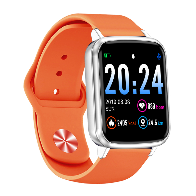 R25 Smart Watch Full Touch Sports Bracelet Heart Rate Tracker Blood Pressure Fitness Tracker Men Women Call Android Clock Band