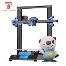 Twotrees 3D Drucker Bluer V2 Lebenslauf Stromausfall Druck Prusa I3 DIY KIT Glas Plattform PLA Filament 3D Drucker Freies verschiffen
