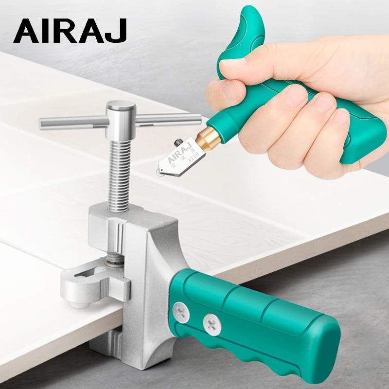 AIRAJ High-strength Glass Cutter Tile Handheld Multi-function Portable Opener Home Glass Cutter Diamond Cutting