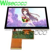Wisecoco – écran LCD TFT 4.3 pouces + panneau tactile, grand Angle de vision, 480X272