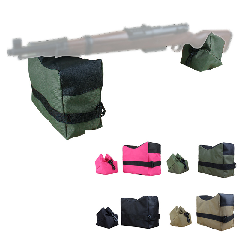 sniper Shooting Bag 900D Wear-resistant Front And Rear Package Target Support Sandbag Outdoor Hunting Shooting Aiming Fixer