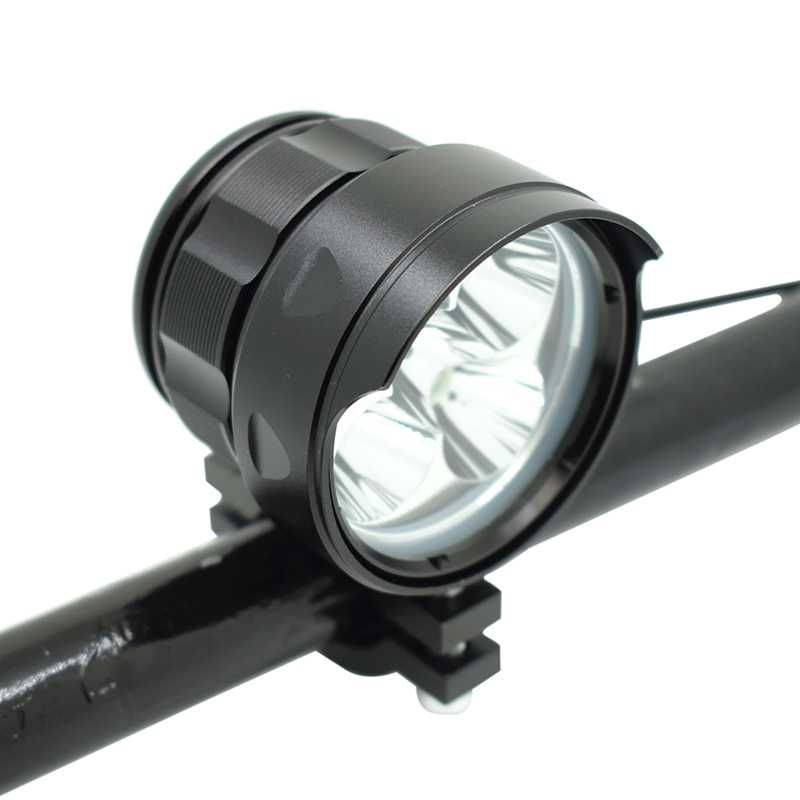 <font><b>7000</b></font> <font><b>Lumens</b></font> <font><b>Bicycle</b></font> Front <font><b>Light</b></font> 5 XML-T6 LED Aluminum Waterproof Bike Headlight for <font><b>Bicycle</b></font> Accessories image