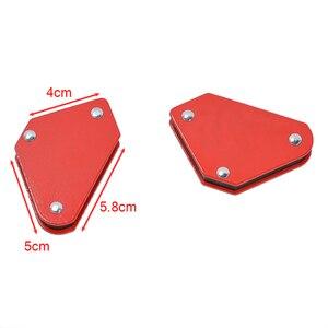 Image 5 - 4 ピース/ロット 4 溶接マグネット磁気正方形ホルダー矢印クランプ 45 90 135 9LB磁気用電気溶接鉄ツール