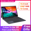 2021 Full New 10.8 Inch 2 in 1 Tablet Android 10 Cores MT6797 Gaming GPS 13MP Tablets 4G Call Laptop Tablet With Keyboard