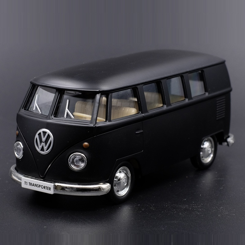 High Simulation Exquisite Diecasts & Toy Vehicles: RMZ City Car Styling T1 Transporter Classical Bus 1:36 Alloy Diecast Model