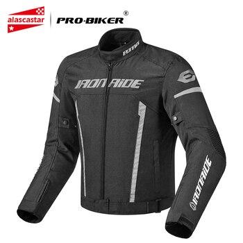 цены IRONRIDE Waterproof Motorcycle Jacket Riding Racing Chaqueta Moto Jacket Body Armor Protective Gear Motocross Jacket Motorcycle