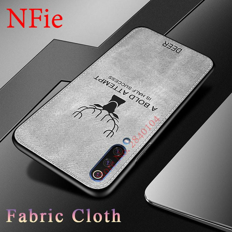 Fabric Deer Cloth TPU Case For For Xiaomi Mi A3 lite CC9E 9T Redmi Note 8 7 6 5 Pro S2 7A 6A 5plus 4X Shockproof Cover Fundas