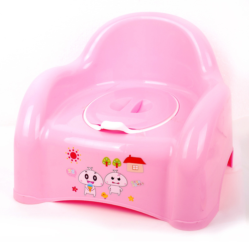 Thick Children Kids Baby Girls Pedestal Pan Infants Chamber Pot 1-5-Year-Old Men's Urinal Straight Connector Put Squat Toilet