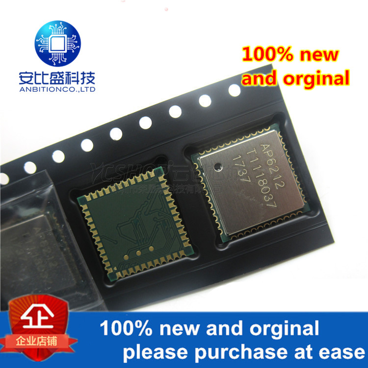 1pcs 100% New And Orginal AP6212 WiFi+Bluetooth 4.0+FM RX SIP Module Spec Sheet In Stock