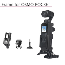 Behuizing Shell Voor Dji Osmo Pocket Beschermhoes Frame Cover Case Met 1/4 Schroef Handheld Gimbal Camera Accessoires