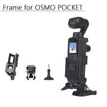 Custodia Shell per DJI Osmo Pocket custodia protettiva per telaio custodia con accessori per fotocamera cardanica palmare a 1/4 viti