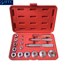 17 PCS Wheel Bearing Race Seal Bush Driver Master Tool Set Aluminum Axle Auto Set