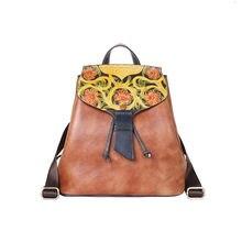 Кожаный рюкзак рюкзаки для женщин милый дорожный сумка камеры