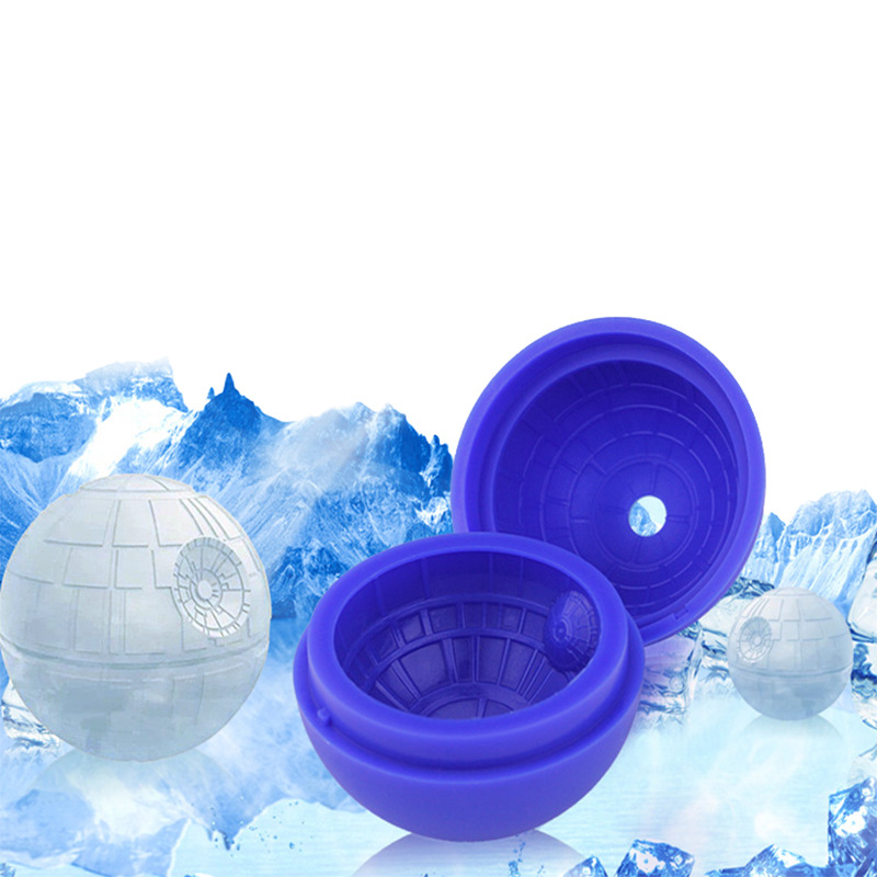 Single Bore Hockey Silica Gel Interstellar Hockey Star Wars Ice Hockey Mold A Cool Summer Circle Silica Gel Ice Ball
