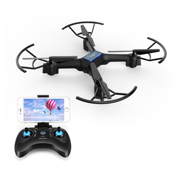 Flymax 2 WiFi Drone Kit With 4 Bright LED Lights Illuminate for Easy Visibility