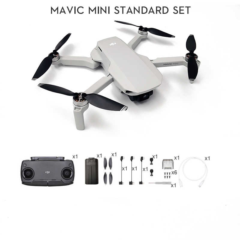Dji Mavic Mini Fly More Combo Mavic Mini Drone With 2 7k Camera Fcc Mt1ss5 Version Flight Time 30 Minutes Original In Stock Camera Drones Aliexpress