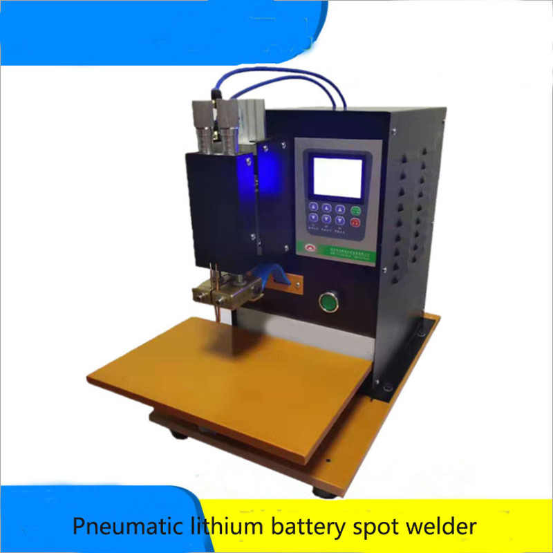 Power Battery Spot Welding Machine Pneumatic Dc High Frequency Inverter Electric Vehicle Battery Welding Machine Spot Welders Aliexpress