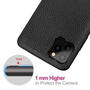 Image 4 - Iphone 11 Apple 11 プロケース 11 プロマックスハウジング MOFi シリコーン耐衝撃 11pro キャパ 11promax Pu レザー Coque