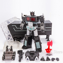Jinbao التحول الصغير OP قائد MPP10 MPP10 B MPP10B مع مقطورة الأسطوانة تحلق على ظهره عمل الشكل ألعاب روبوتية الهدايا