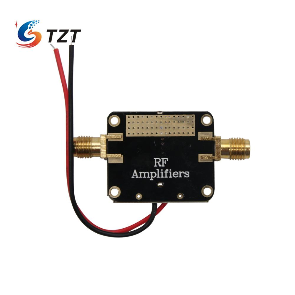 TZT Radio Frequency RF Amplifier Module Bandwidth 50M-6GHz Medium Power AMP image
