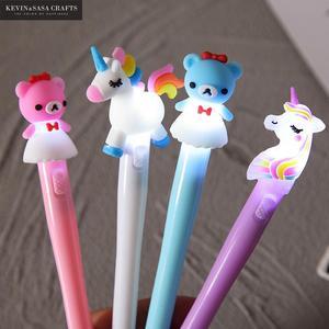 1Pc Gel Pen Unicorn Pen Stationery Kawaii School Supplies Gel Ink Pen School Stationery Office Suppliers Pen Kids Gifts