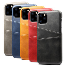 Luxury Card Holder Case For iPhone 6 6s 7 8 Plus Case Retro Wallet Leather Cover For iPhone 11 Pro Max XS Max XR X Phone Case luxury card holder case for iphone 6 6s 7 8 plus case retro wallet leather cover for iphone 11 pro max xs max xr x phone case