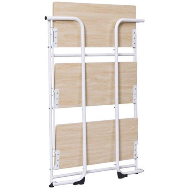 3 х уровневый складные полки для хранения утилита постоянная стойка для Кухня гараж для офисного помещения, используя пол Тип дома держател... - 6