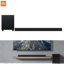 Xiaomi Mi haut-parleur TV 100W BLE 5.0 barre de son & 6.5 pouces caisson de basses Home cinéma 2.1 canaux 5 unités de son Interface multi-entrées