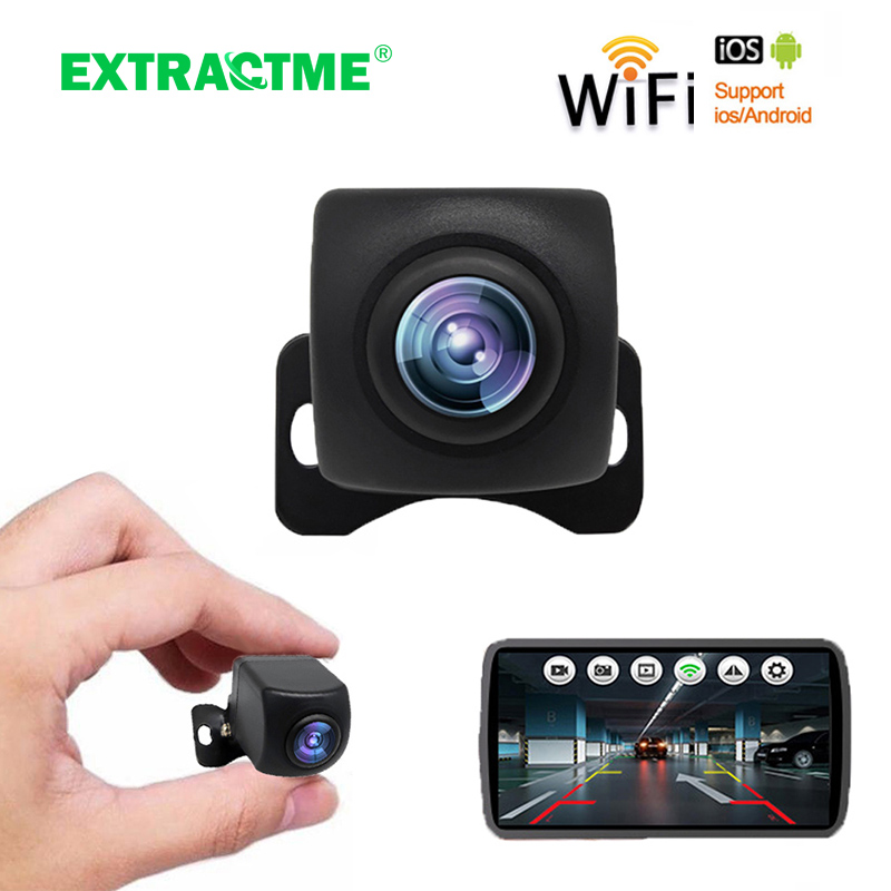 Car Rear View Camera Wifi HD Night Vision Rear View Camera Wireless With Monitor Waterproof Wifi BackUp Camera